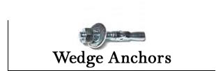 Wedge Anchors