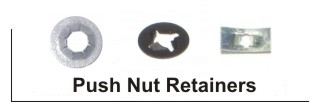 Push Nut Bold Retainers